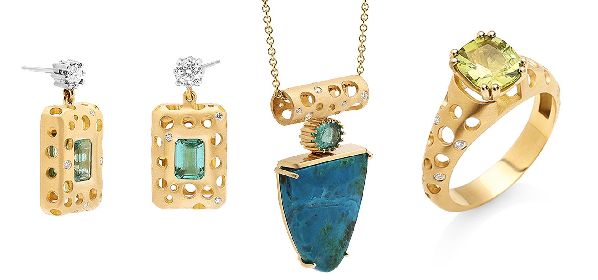 July 14th and 15th LaNae Fine Jewelry will be hosting a trunk show for Dana Bronfman jewelry. Dana Bronfman brings an edge and chic sophistication in her jewelry line. Nothing can compare to her distinct fresh jewelry design.