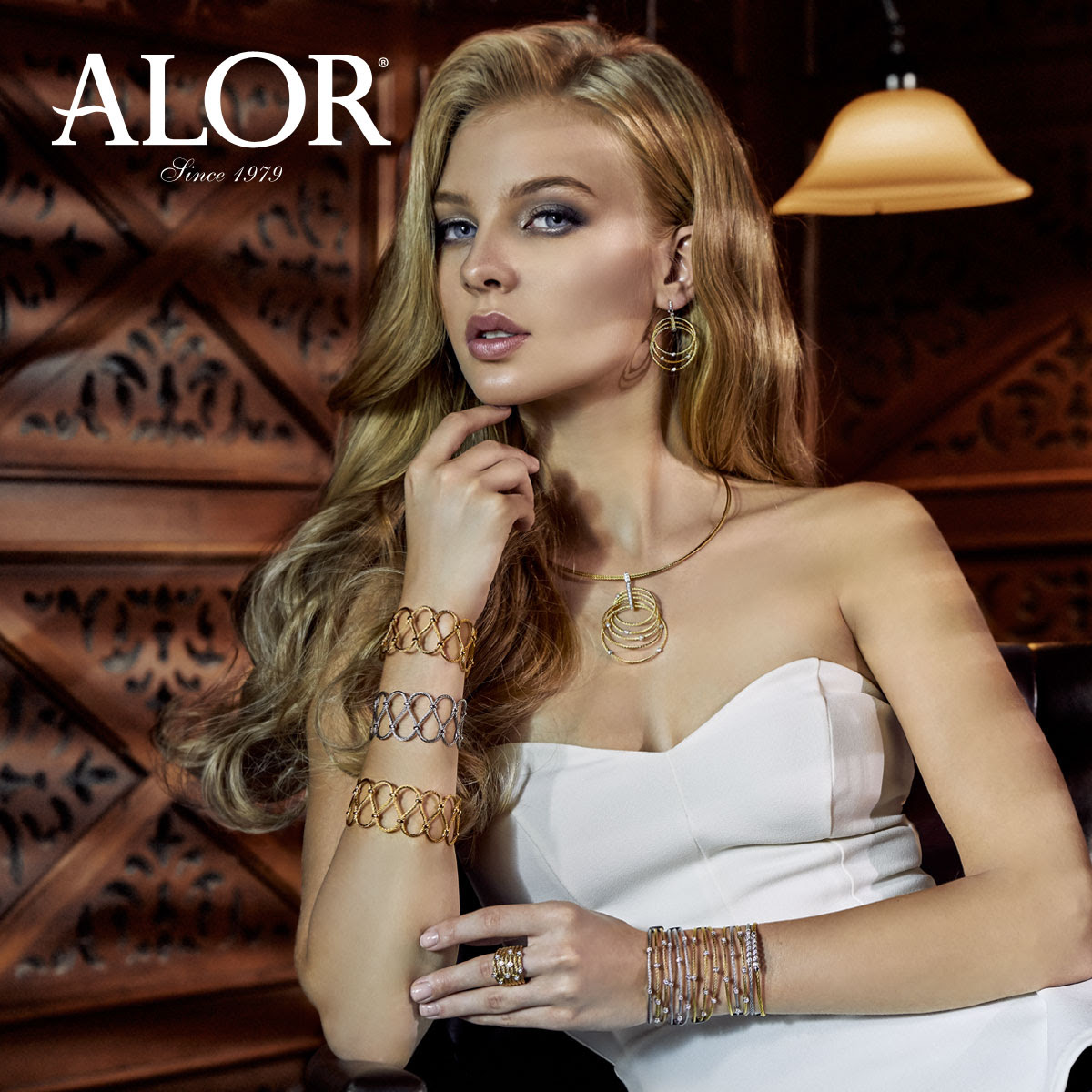 Showing Rings from the stunning collection of designer rings created by  ALOR