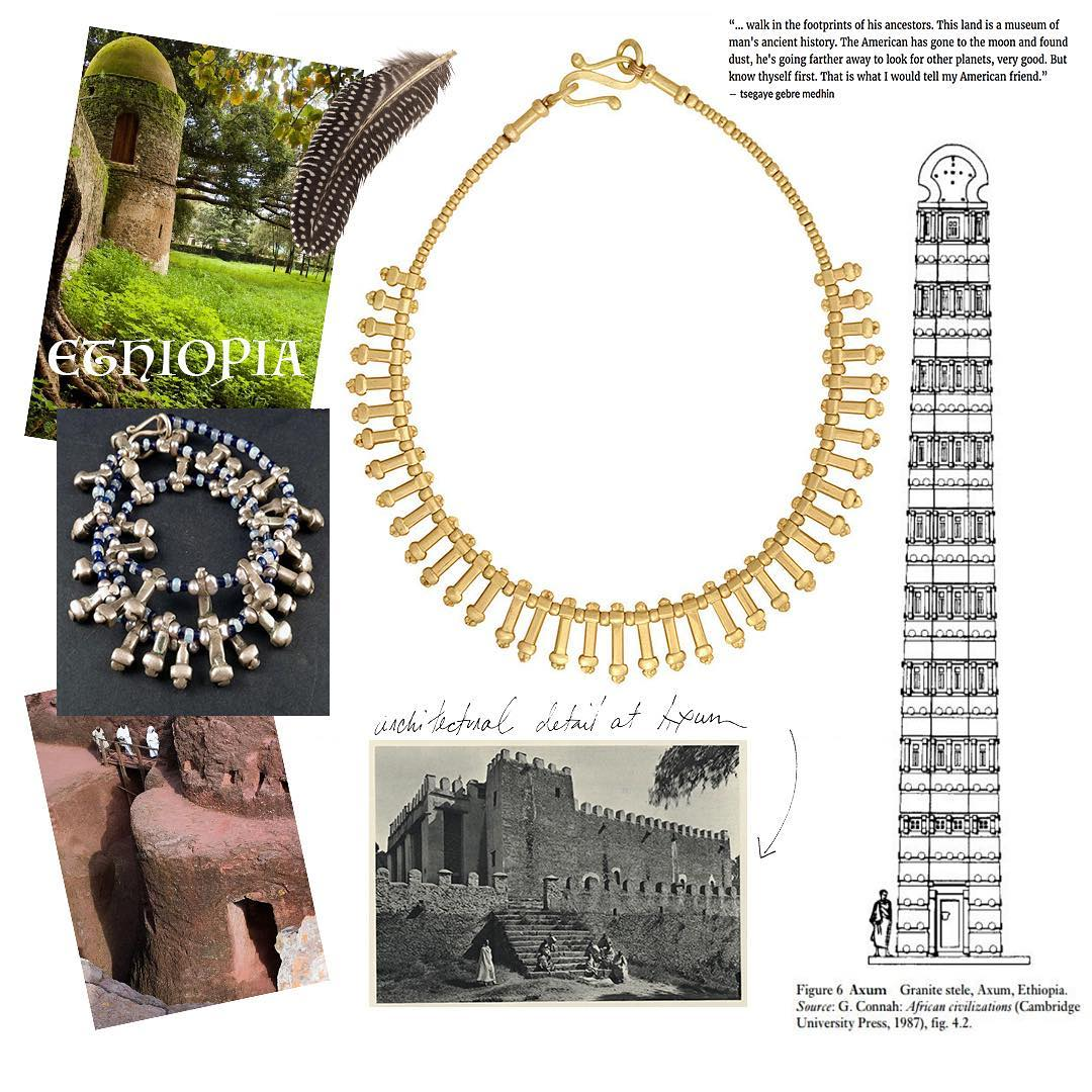 Shompole Collection Ethiopian Heritage Necklace