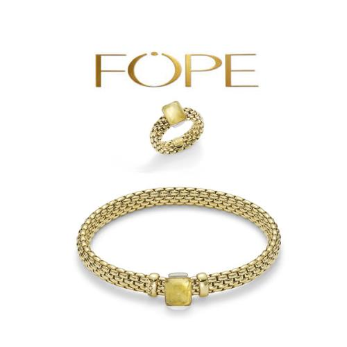 Hand picked fine jewelry from designer Fope.